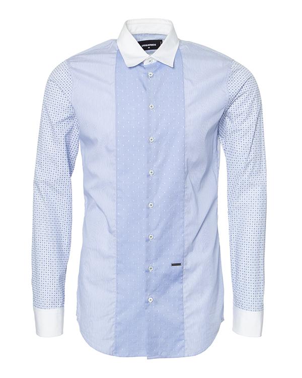 мужская рубашка DSQUARED2, сезон: зима 2014/15. Купить за 12900 руб. | Фото 1