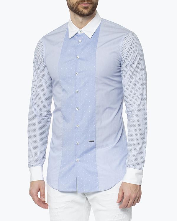 мужская рубашка DSQUARED, сезон: зима 2014/15. Купить за 12900 руб. | Фото 3