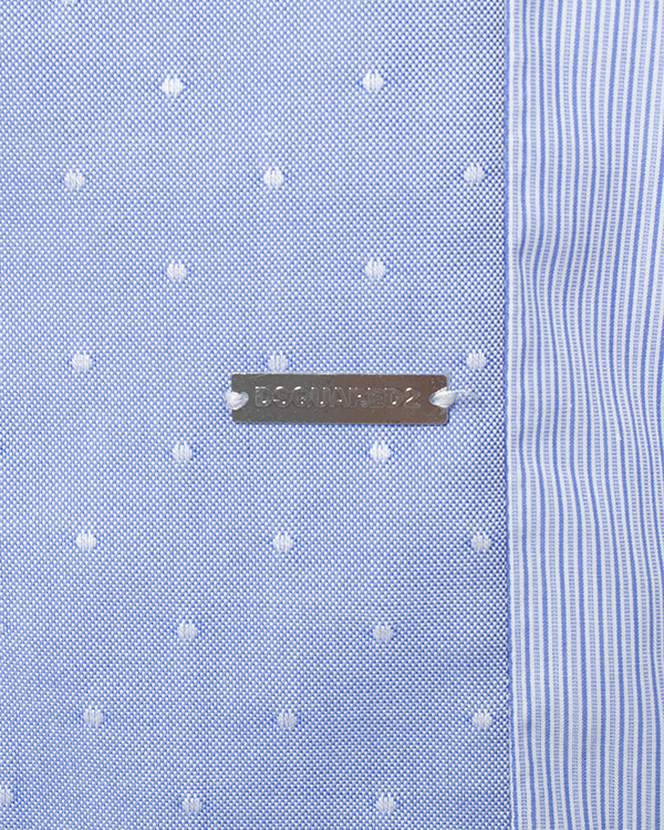 мужская рубашка DSQUARED, сезон: зима 2014/15. Купить за 12900 руб. | Фото 5