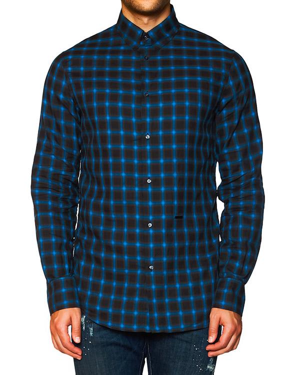 мужская рубашка DSQUARED, сезон: зима 2015/16. Купить за 11900 руб. | Фото 1