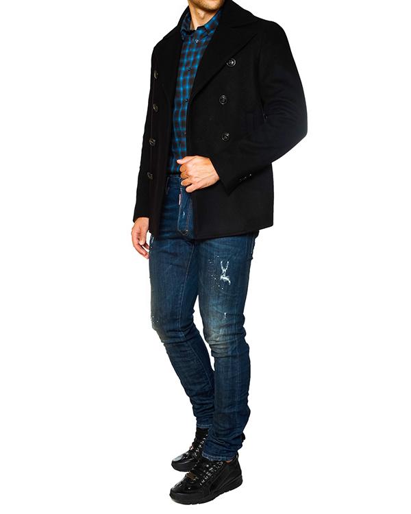 мужская рубашка DSQUARED, сезон: зима 2015/16. Купить за 11900 руб. | Фото 3
