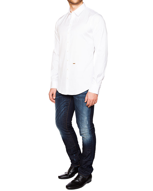 мужская рубашка DSQUARED, сезон: лето 2016. Купить за 8400 руб. | Фото 3
