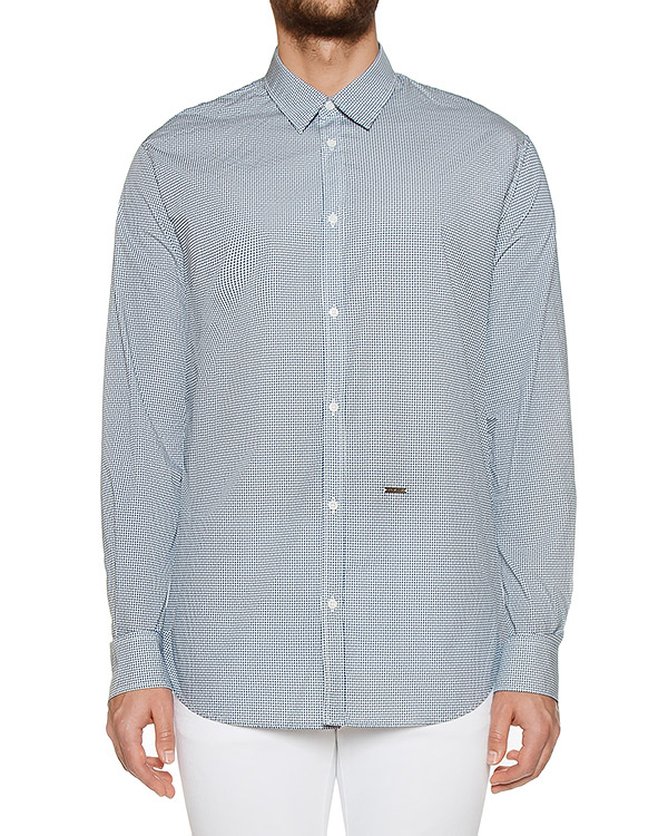 рубашка  артикул S74DM0001 марки DSQUARED купить за 22500 руб.