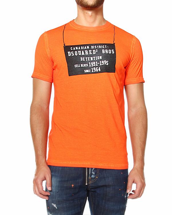 мужская футболка DSQUARED, сезон: зима 2014/15. Купить за 6500 руб.   Фото 1