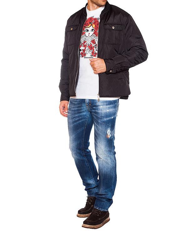 мужская футболка DSQUARED, сезон: зима 2015/16. Купить за 5400 руб.   Фото $i