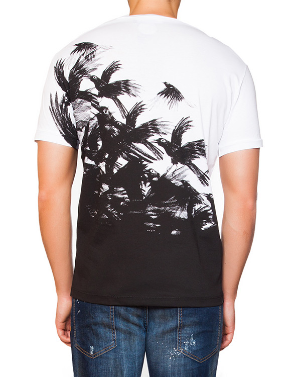 мужская футболка DSQUARED, сезон: зима 2015/16. Купить за 7500 руб. | Фото 2