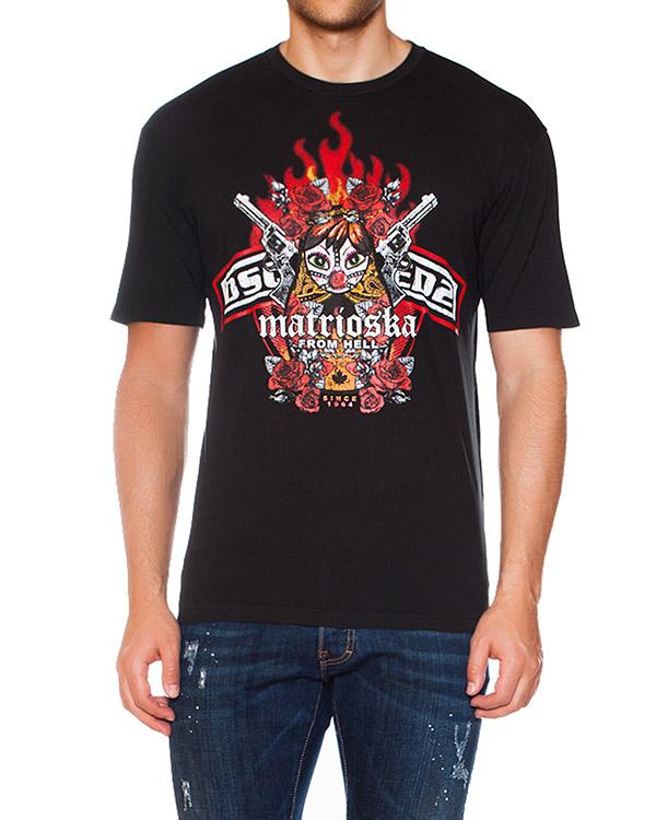 мужская футболка DSQUARED, сезон: зима 2015/16. Купить за 6300 руб. | Фото 1