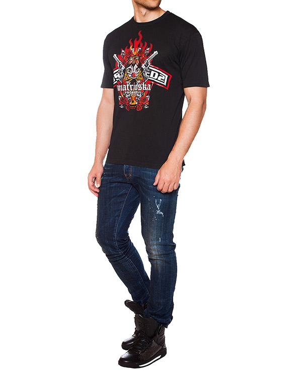 мужская футболка DSQUARED, сезон: зима 2015/16. Купить за 6300 руб. | Фото 3