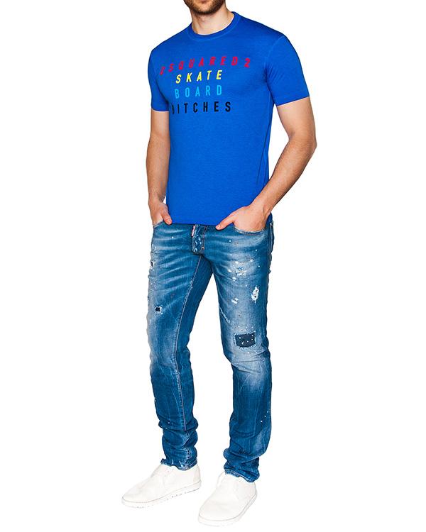 мужская футболка DSQUARED, сезон: лето 2016. Купить за 7300 руб. | Фото 3