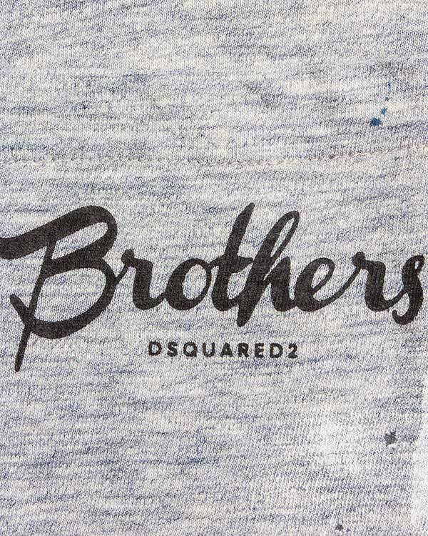 мужская футболка DSQUARED, сезон: лето 2016. Купить за 9200 руб. | Фото 4