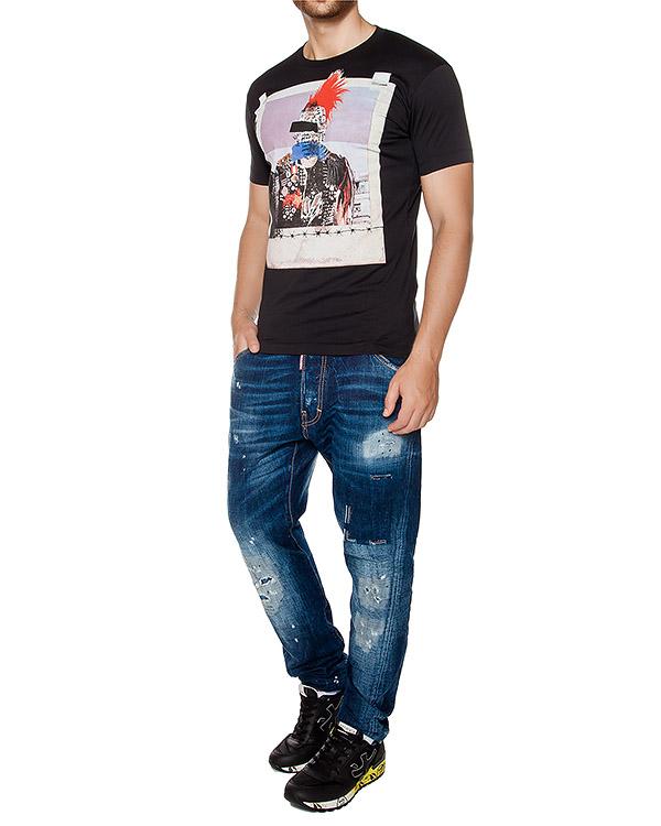 мужская футболка DSQUARED, сезон: зима 2016/17. Купить за 6600 руб. | Фото 3