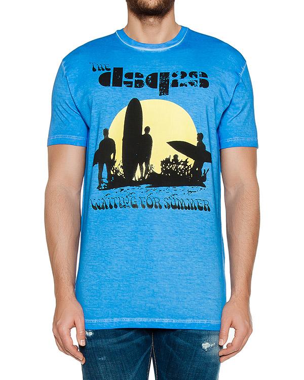 футболка  артикул S74GD0197 марки DSQUARED купить за 5600 руб.