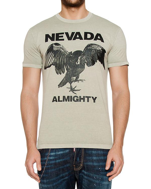 мужская футболка DSQUARED2, сезон: лето 2017. Купить за 6200 руб. | Фото $i