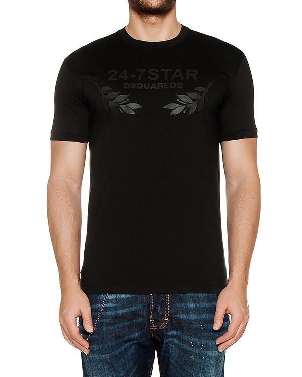 футболка  артикул S74GD0232 марки DSQUARED2 купить за 4700 руб.