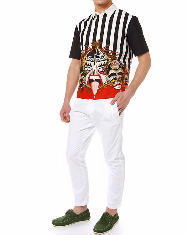 мужская брюки DSQUARED, сезон: лето 2014. Купить за 10400 руб. | Фото 3
