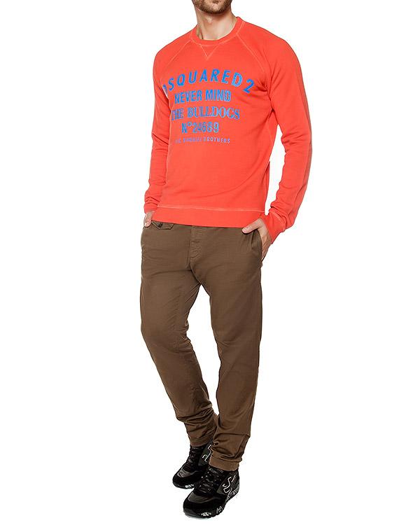 мужская брюки DSQUARED, сезон: зима 2016/17. Купить за 27700 руб. | Фото 3
