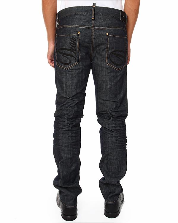 мужская джинсы DSQUARED, сезон: зима 2014/15. Купить за 12400 руб. | Фото 2