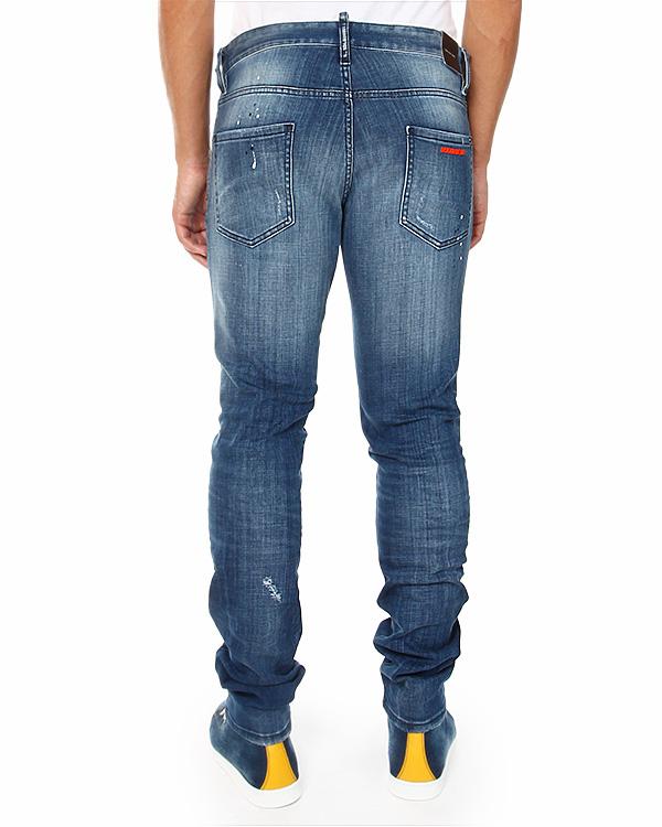 мужская джинсы DSQUARED, сезон: зима 2014/15. Купить за 13900 руб. | Фото 2