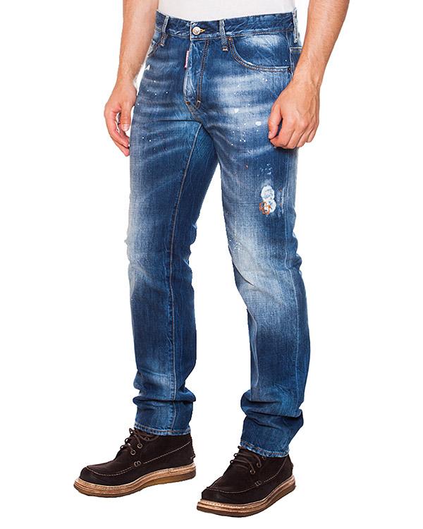 мужская джинсы DSQUARED, сезон: зима 2015/16. Купить за 13500 руб.   Фото 1