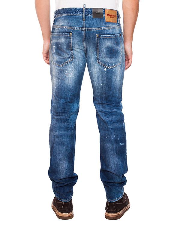 мужская джинсы DSQUARED, сезон: зима 2015/16. Купить за 13500 руб.   Фото 2