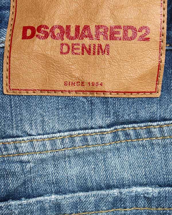 мужская джинсы DSQUARED, сезон: зима 2015/16. Купить за 13500 руб.   Фото 4