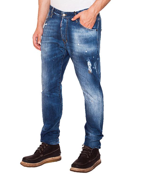 мужская джинсы DSQUARED, сезон: зима 2015/16. Купить за 13500 руб. | Фото 1