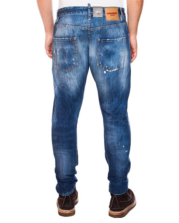 мужская джинсы DSQUARED, сезон: зима 2015/16. Купить за 13500 руб. | Фото 2
