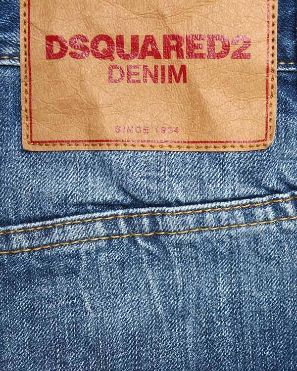 мужская джинсы DSQUARED, сезон: зима 2015/16. Купить за 13500 руб. | Фото 4