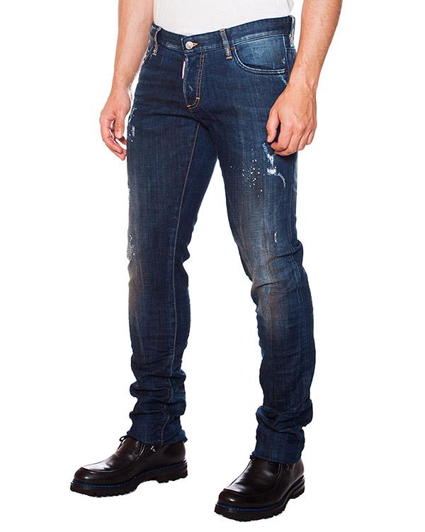 мужская джинсы DSQUARED, сезон: зима 2015/16. Купить за 12100 руб. | Фото 1
