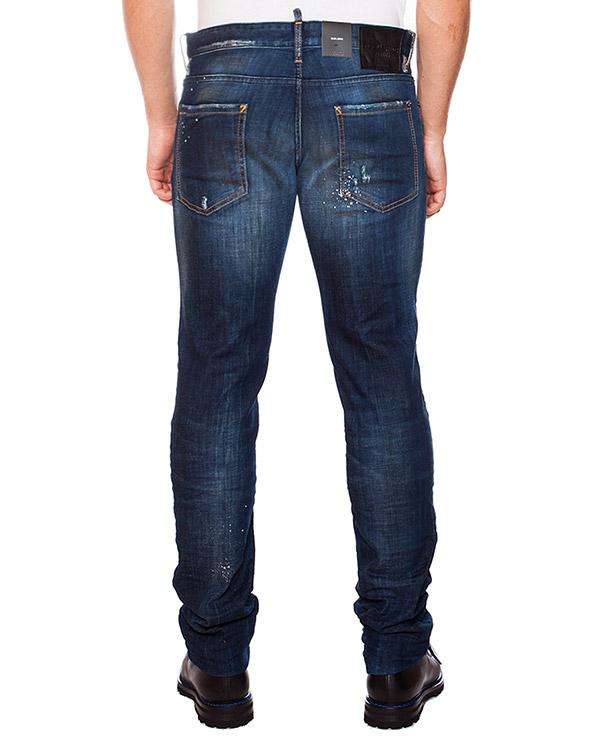 мужская джинсы DSQUARED, сезон: зима 2015/16. Купить за 12100 руб. | Фото 2