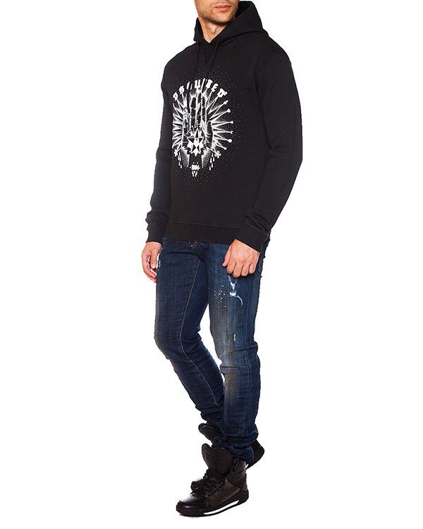 мужская джинсы DSQUARED, сезон: зима 2015/16. Купить за 12100 руб. | Фото 3