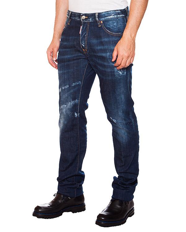 мужская джинсы DSQUARED, сезон: зима 2015/16. Купить за 12500 руб. | Фото 1