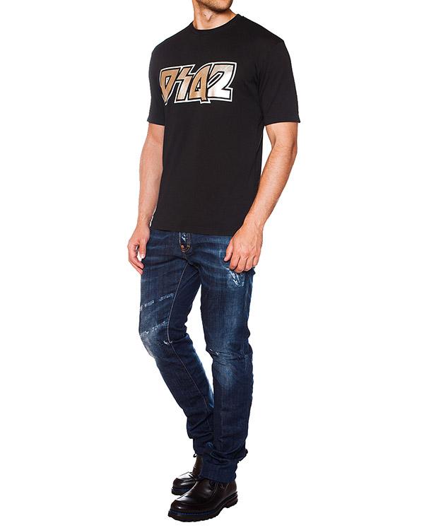мужская джинсы DSQUARED, сезон: зима 2015/16. Купить за 12500 руб. | Фото 3