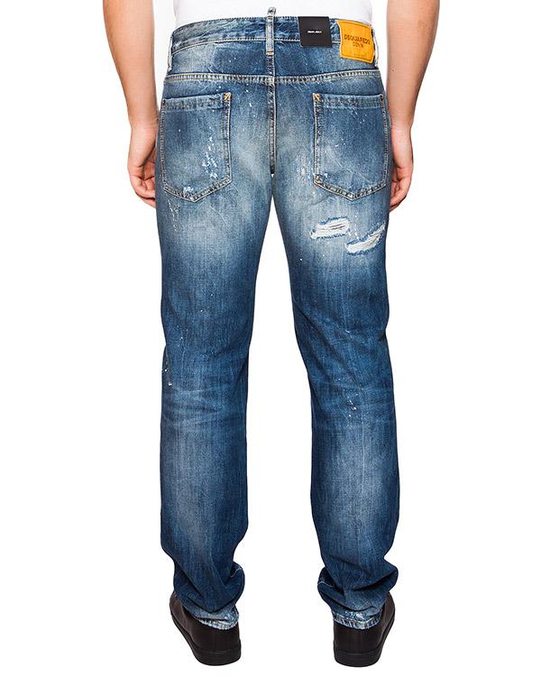 мужская джинсы DSQUARED, сезон: лето 2016. Купить за 22000 руб. | Фото 2
