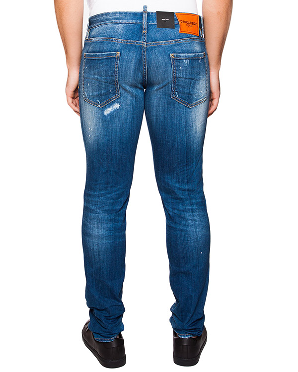 мужская джинсы DSQUARED, сезон: лето 2016. Купить за 19200 руб. | Фото 2
