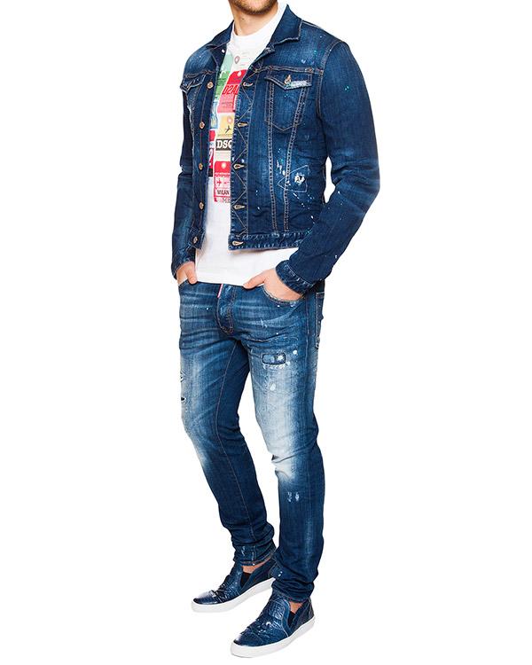 мужская джинсы DSQUARED, сезон: лето 2016. Купить за 21300 руб. | Фото 3