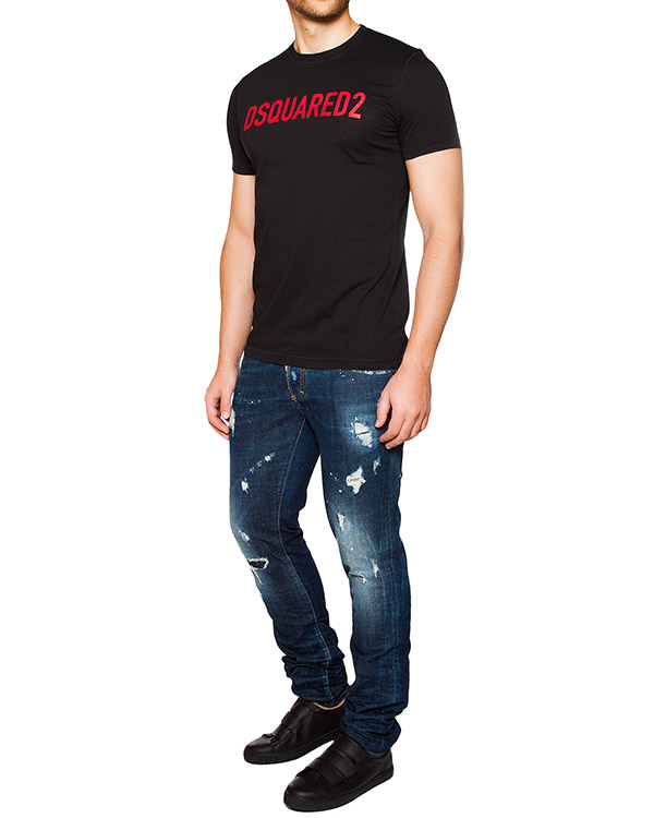 мужская джинсы DSQUARED, сезон: лето 2016. Купить за 17900 руб. | Фото 3
