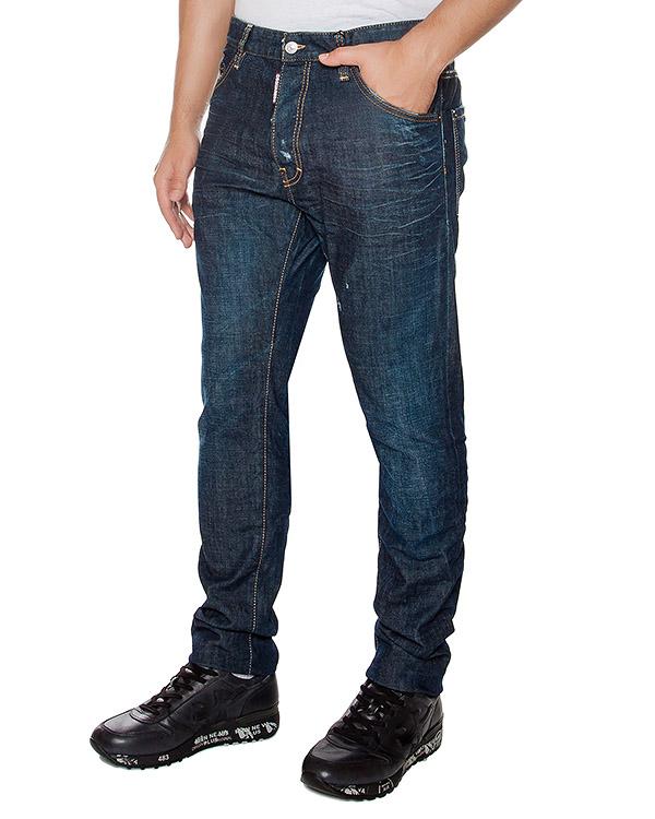мужская джинсы DSQUARED2, сезон: зима 2016/17. Купить за 18500 руб. | Фото $i