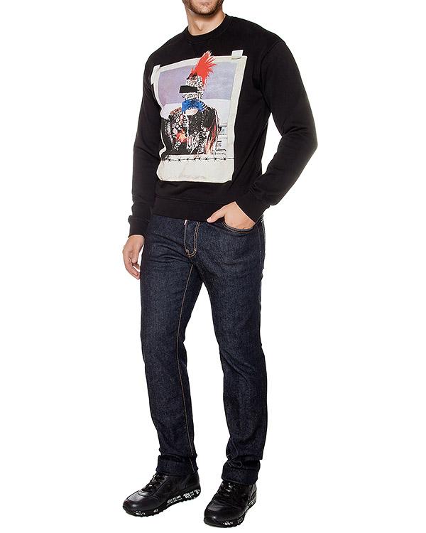 мужская джинсы DSQUARED, сезон: зима 2016/17. Купить за 16900 руб. | Фото 3