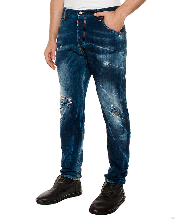 мужская джинсы DSQUARED2, сезон: лето 2017. Купить за 23500 руб. | Фото $i