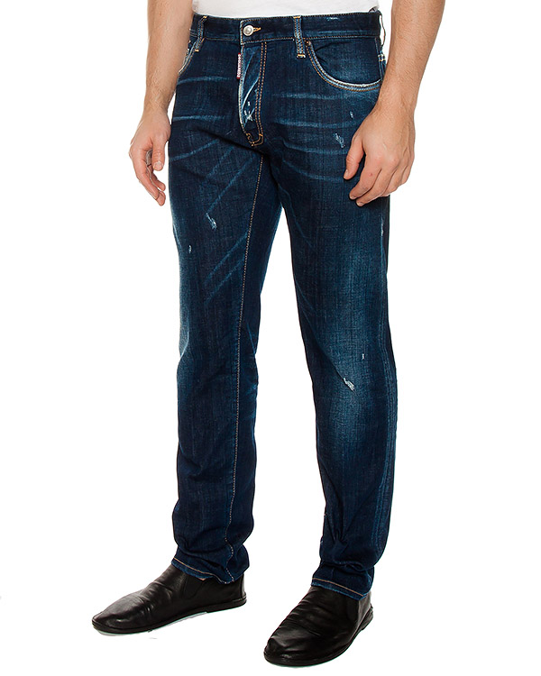джинсы  артикул S74LB0167 марки DSQUARED купить за 17000 руб.