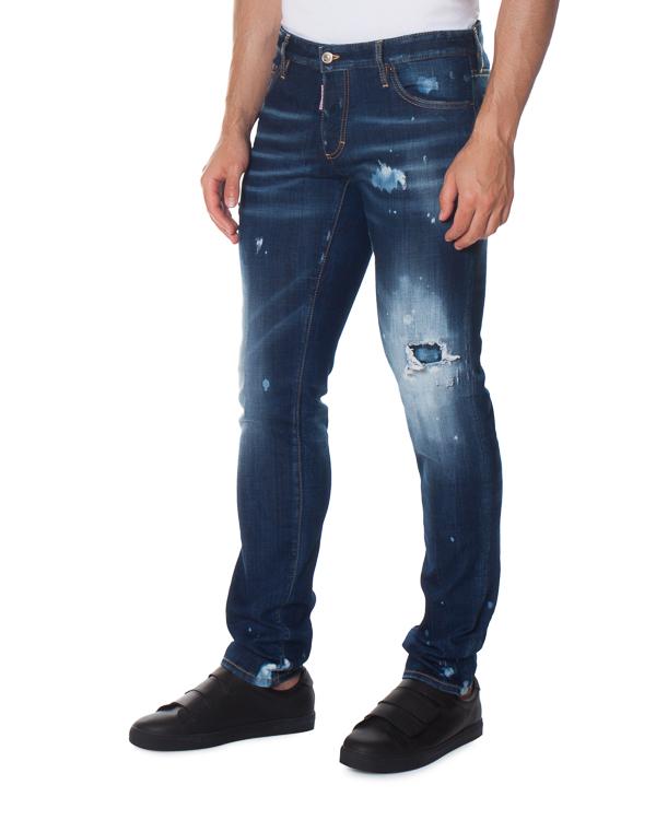 джинсы Clement с низкой посадкой артикул S74LB0264 марки DSQUARED2 купить за 30800 руб.