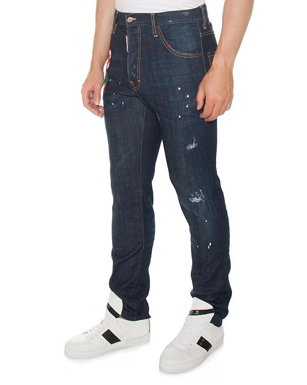 джинсы  артикул S74LB0290 марки DSQUARED купить за 37600 руб.