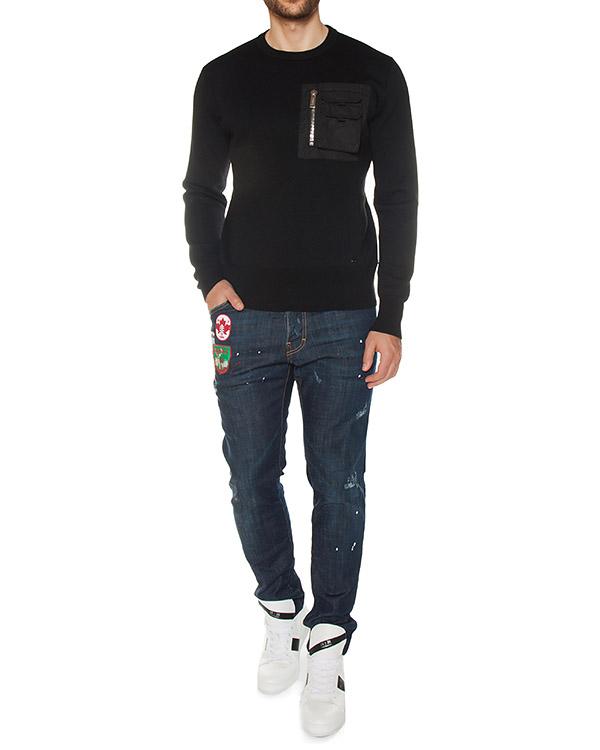мужская джинсы DSQUARED2, сезон: зима 2017/18. Купить за 37600 руб. | Фото $i