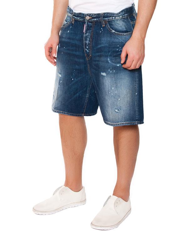 мужская шорты DSQUARED, сезон: лето 2015. Купить за 13800 руб. | Фото 1