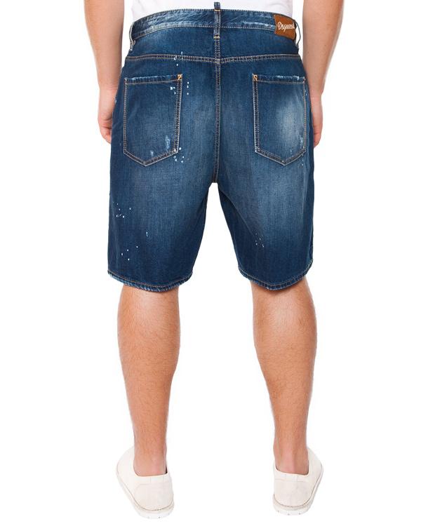 мужская шорты DSQUARED, сезон: лето 2015. Купить за 13800 руб. | Фото 2