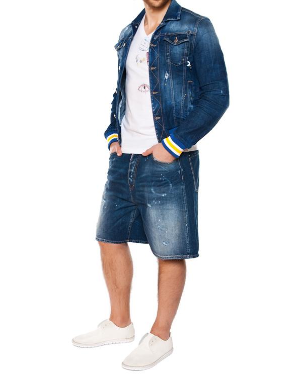 мужская шорты DSQUARED, сезон: лето 2015. Купить за 13800 руб. | Фото 3