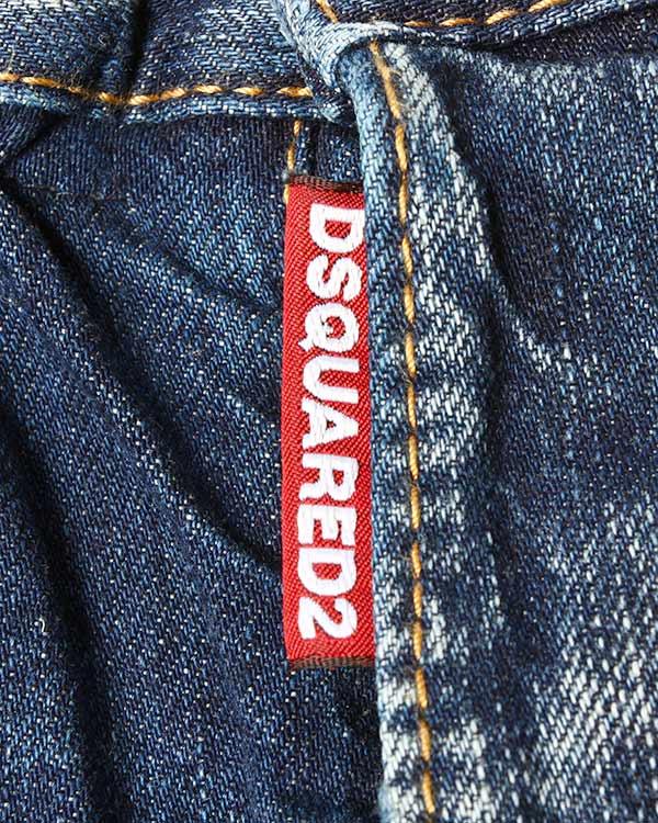 мужская шорты DSQUARED, сезон: лето 2015. Купить за 13800 руб. | Фото 4