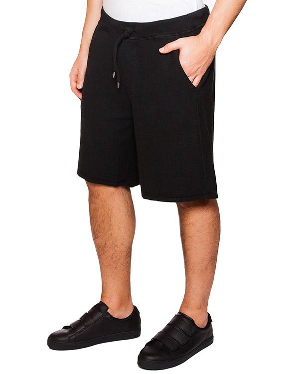 шорты из мягкого хлопка на завязках артикул S74MU0388 марки DSQUARED2 купить за 9400 руб.
