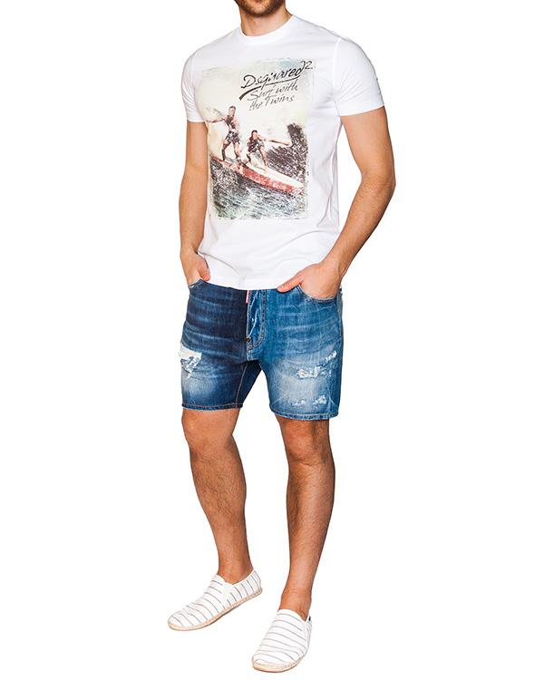 мужская шорты DSQUARED, сезон: лето 2016. Купить за 16400 руб. | Фото 3